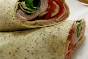 Show de wraps dietéticos